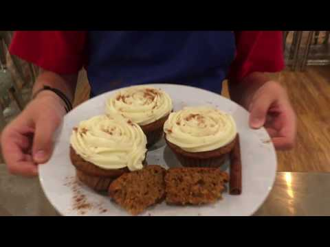 Eric's favorite Spiced Cupcakes with Cream Cheese Frosting