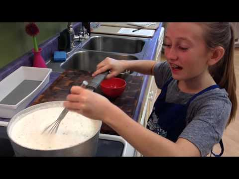 Culinary Kids Student Tips - Emily Roche -  Homemade Cheese
